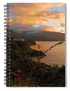Golden Hour Spiral Notebook