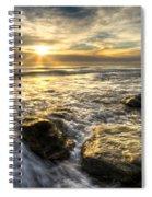 Golden Nuggets Spiral Notebook