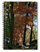 Golden Oak Spiral Notebook