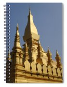 Golden Palace Laos 2 Spiral Notebook