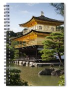 Golden Pavilion, A Buddhist Temple Spiral Notebook