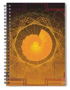 Golden Ratio 2012 Spiral Notebook