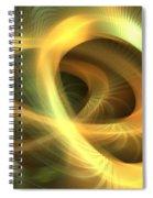 Golden Rings Spiral Notebook