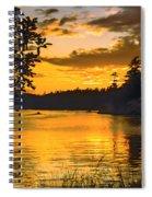 Golden San Juan Spiral Notebook