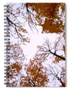 Golden September ... Spiral Notebook