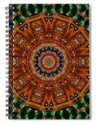 Golden Wonderful Delight Spiral Notebook