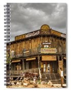 Goldfield Ghost Town - Peterson's Mercantile  Spiral Notebook