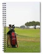 Golf Bag Spiral Notebook