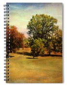 Golf Course II Spiral Notebook