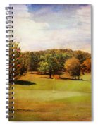 Golf Course IIi Spiral Notebook