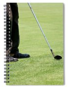 Golf Feet Spiral Notebook