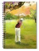 Golf In Spain Castello Masters  04 Spiral Notebook