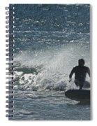 Gone Surfing Spiral Notebook
