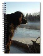 Good Morning Mississippi River Spiral Notebook