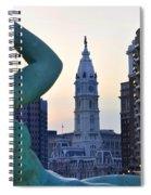 Good Morning Philadelphia Spiral Notebook