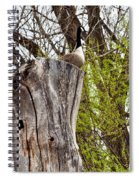 Goose Tree Spiral Notebook