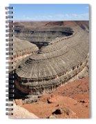 Goosenecks Of The San Juan River Spiral Notebook