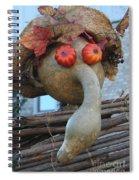 Gordo The Scarecrow Spiral Notebook