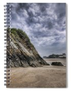 Goscar Rock Tenby 2 Spiral Notebook