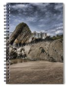 Goscar Rock Tenby 4 Spiral Notebook