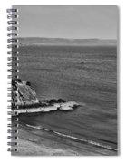 Goscar Rock Tenby Mono Spiral Notebook