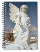 Gothic Blue Sky Spiral Notebook