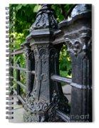 Gothic Design Spiral Notebook