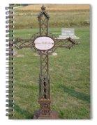 Gothic Grave Marker Spiral Notebook