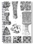 Gothic Ornament Spiral Notebook