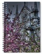 Gothic Paris Spiral Notebook