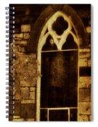 Gothic Window Spiral Notebook