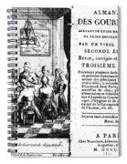 Gourmands Almanac, 1806 Spiral Notebook