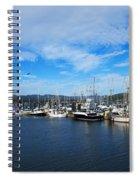 Government Wharf In Sooke Harbour Spiral Notebook