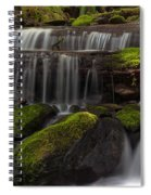 Gracefully Flowing Spiral Notebook