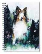 Gracie Abbey And Bella Spiral Notebook