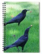 Grackles In The Yard Spiral Notebook