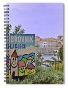Grad Dubrovnik Spiral Notebook