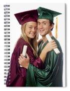 Graduation Couple Spiral Notebook