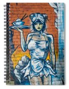 Grafitti Wall Spiral Notebook