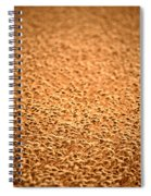 grain crop ripening in Saskatchewan Spiral Notebook