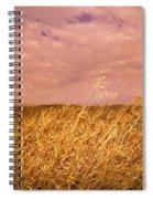 Grain Elevator And Crop Spiral Notebook