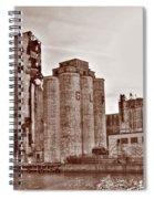 Grain Elevators St Spiral Notebook