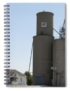 Grain Processing Facility In Shirley Illinois 3 Spiral Notebook