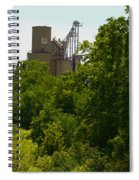 Grain Processing Facility In Shirley Illinois 5 Spiral Notebook
