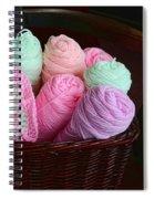 Grammy's Yarn Basket Spiral Notebook