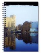 Grand Canal, Dublin, Co Dublin, Ireland Spiral Notebook