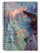 Grand Canyon A Place To Stand Spiral Notebook