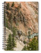 Grand Canyon And Yellowstone River Spiral Notebook