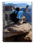 Grand Canyon Feeling All Right Spiral Notebook
