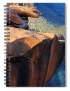 Grand Canyon Into Space Spiral Notebook